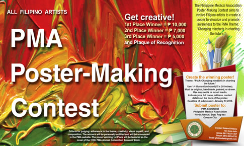 PMA Poster Making Contest – Philippine Medical Association